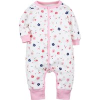 Fresh Allover Printed Long-sleeve Cotton Jumpsuit For Baby