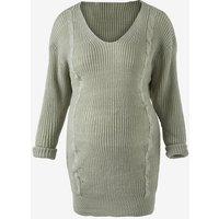 Drop Shoulder Maternity Sweater