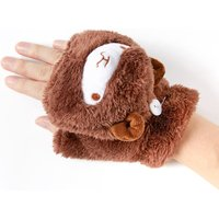 Cute Alpaca Transformable Matching Gloves
