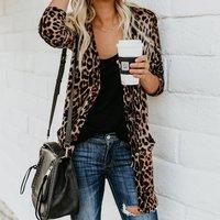 Leopard Knit Sweater For women