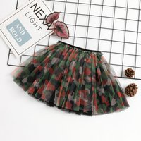 Camouflage Tulle Skirt