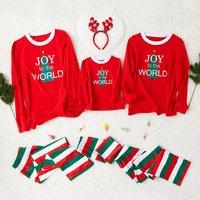 Christmas Tree Pattern Family Pajamas Sets