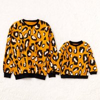 Leopard Printed Sweatshirt for Kids and Baby