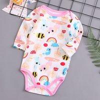 Allover Animal Printed Bodysuit for Baby