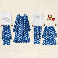 Bear Printed Sets and Dress Family Matching
