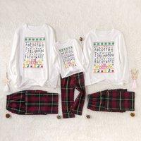Alphabet Family Matching Pajamas