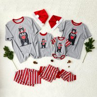 Bear with Heart Family Matching Pajamas