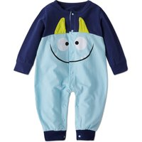 Long-sleeve Monster Jumpsuit for Baby