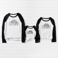 Number Bear Family T-shirts