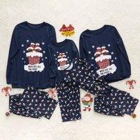 Christmas Chimney Family Pajamas