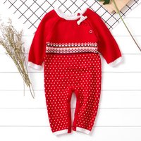 (Only 2 Left for 9-12M)Knit Jumpsuit for Baby