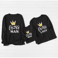Crown BOSS Family Long Sleeve T-shirts