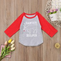 Santa's Helper Christmas Long Sleeve Tee