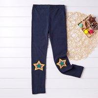 Star  Applique Girls Leggings