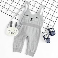 Knit Rabbit Jumpsuit for Baby