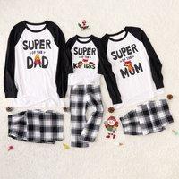 Comfortable Matchign Pajamas for Super Family