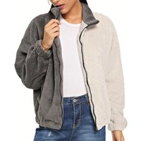 Special Contrast Color Jacket for Women