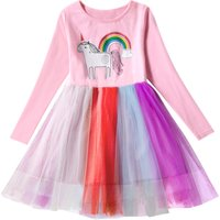 Pretty Unicorn Tulle Princess Dress