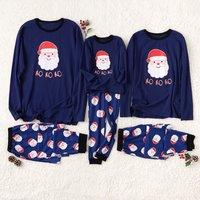 HO HO HO Santa Family Pajamas for Christmas