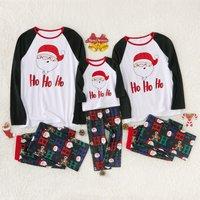 Happy Santa Fmaily Pajamas for Christmas