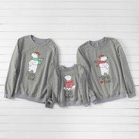 Cool Polar bear Family Sweatshirts