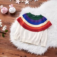 Rainbow Cape Sweater