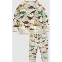 Dinosaur Boys Sweatshirt Set