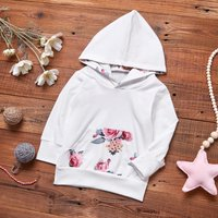 Floral Hooded Top with Pocket