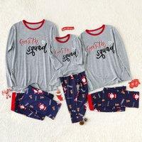Happy Santa Family Pajamas