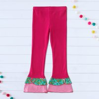 Mosaic Girls Double Ruffle  Bell Leggings
