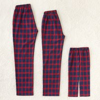 Blue and Red Palid Family Pants