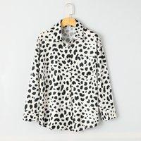 Sexy Leopard Print Long Sleeve Shirt