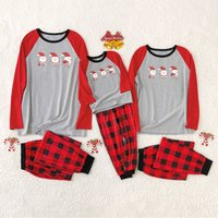 Santa Clauses Family Pajamas Sets