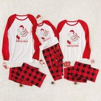 Ski bear Family Pajamas Sets