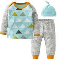 3-piece Color Blocked Jersey Set