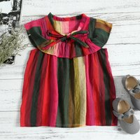 Colorful Striped Sleeveless Top