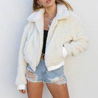Fluffy Warm Comfortable Zip Jacket