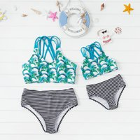 Coconut Tree Swimsuit for Mommy and Me