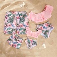 Plant Family Swimsuit for Summer