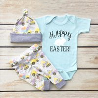 Happy Easter Rabbit Outfit