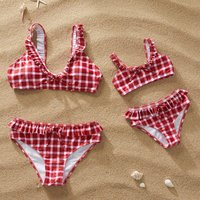 Classic Matching Swimsuit for Mommy and Me