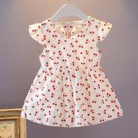 Ruffle Cherry Dress