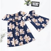 Blossom Matching Dress for Mommy and Me