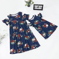 Rose Matching Dress for Mom and Me