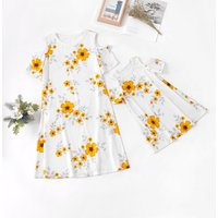Blossom Matching Dress for Mom and Girl