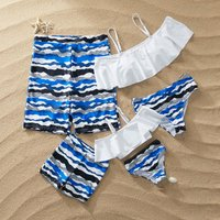 Solid Swimsuit for Mommy and Me