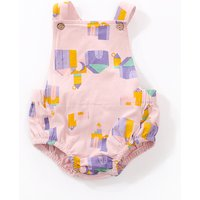 Lovely Building Block Print Bodysuit for Baby
