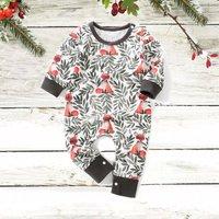 Stylish Fox Print Long-sleeve Jumpsuit for Baby Boy