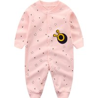 Chic Snail Applique Long Sleeves Jumpsuit for Baby