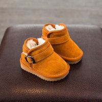 Warm Plush Lined Snow Boots for Toddler and Kid